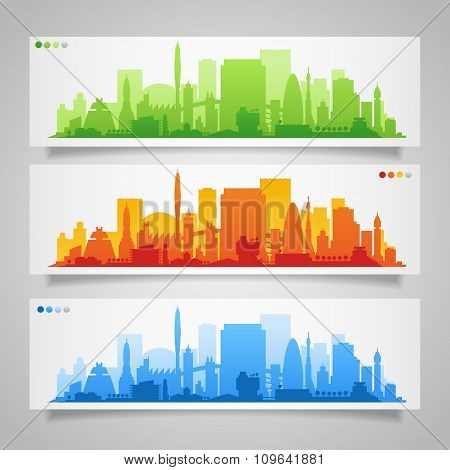 City Skyline Sets