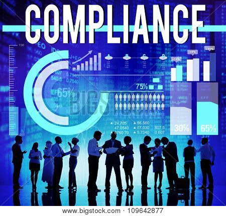 Compliance Procedure Regulations Rules Policy Concept