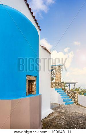 Greek Church At Kos Island