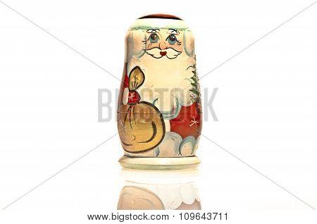 Santa Claus. Russian matrioshka