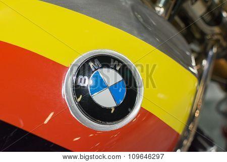 Bmw Emblem On Display