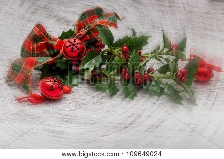 Christmas Decorative Design, Center Focus