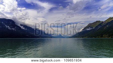 Brienz lake, Bern, Switzerland