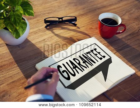 Guarantee Warranty Satisfaction Benefits Customer Concept