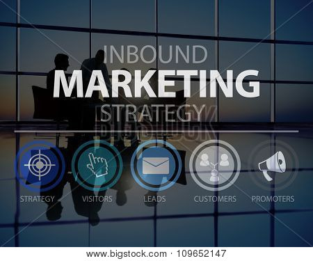 Inbound Marketing Strategy Commerce Online Concept