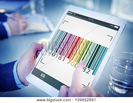 Bar Code Encryption Interface Coding Concept