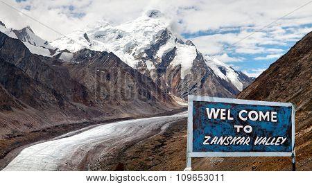 Darang Durung, Or Durung Drung Glacier