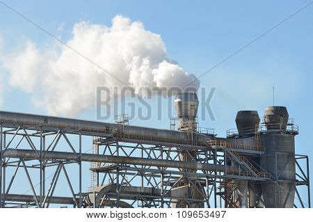 Industrial Factory Exterior