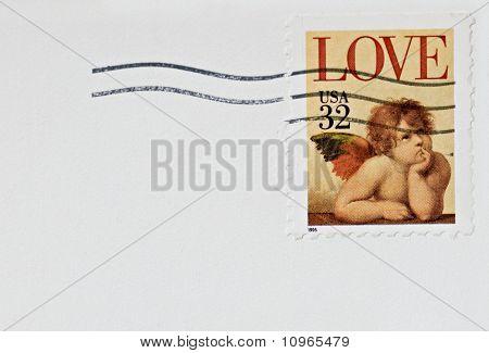 LOVE, CHERUB Stamp