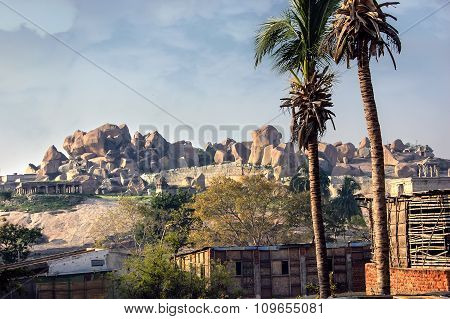 Beautiful Landscape In Hampi