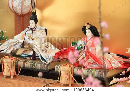 Hina doll (Japanese traditional doll)