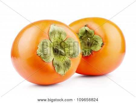 Persimmon Fruit Isolated