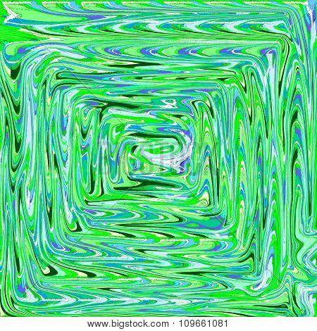 Psychedelic spiral fractal pattern