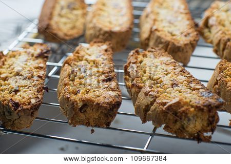 Homemade Almond Biscotti Cooke Baking