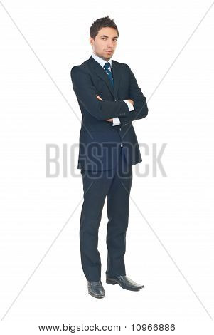 Full Length Of Young Business Man