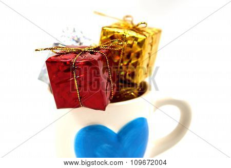 Gift Box In A Cup