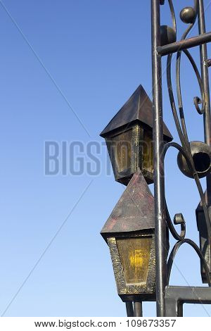 Decorative Lamps In Antique Style