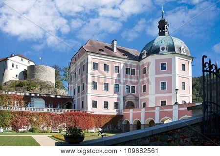 caste Becov nad Teplou, Bohemia, Czech republic