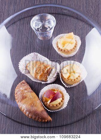 Pastries Under Glass