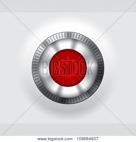 Power Button With Lcd Display