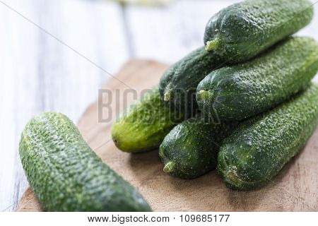 Some Small Cucumbers