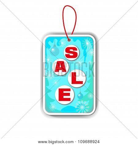 Winter Sale Vector.