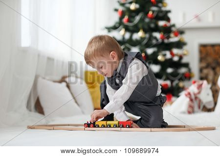 Blonde Toddler Boy