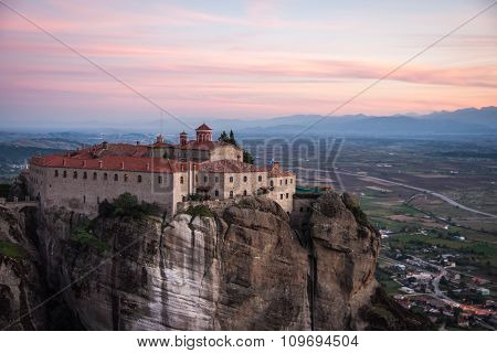 Monastery Of St. Stefanis In Meteora, Greece