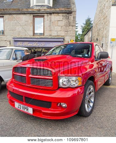 Dodge Ram SRT pickup truck