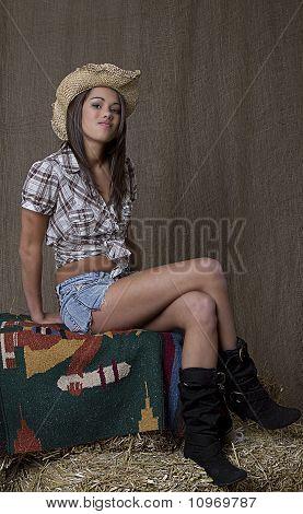 Smug Cowgirl