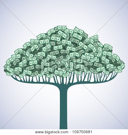Tree of money.