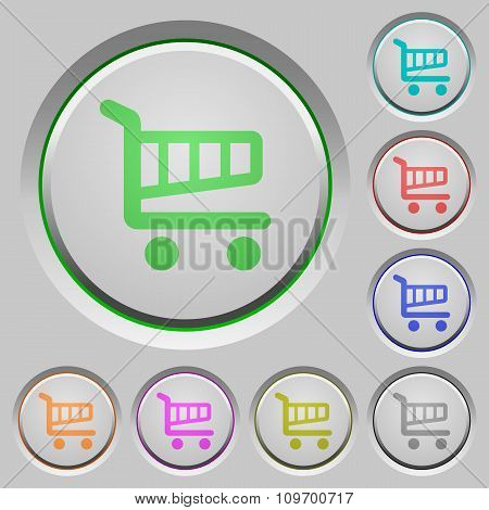 Shopping Cart Push Buttons
