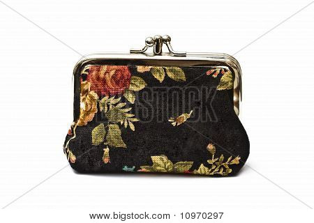 Beautiful Purse Isolated On White