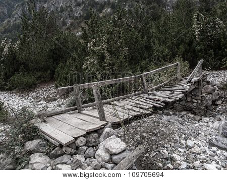 Old Bridge In Theth