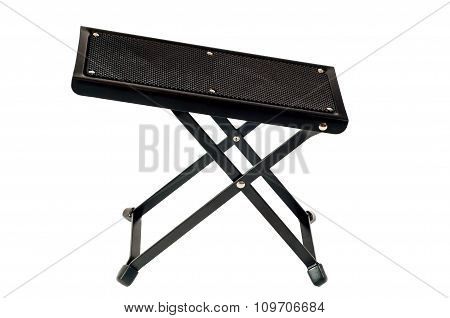 Guitar Footrest On White Background