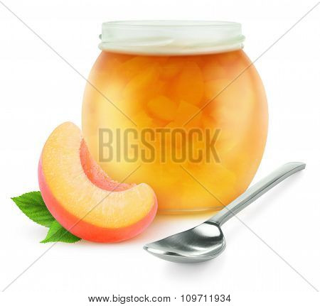 Peach Or Apricot Fruit Jam