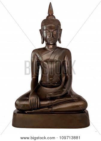 Buddha Thailand, On A White Background.