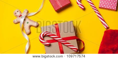Christmas Gifts And Candy