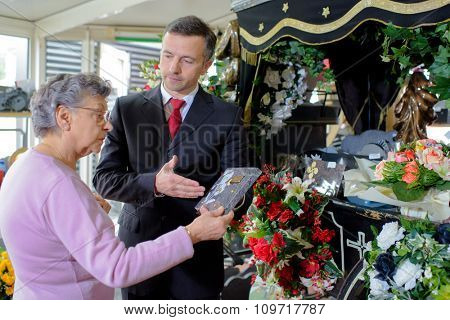 funeral shop