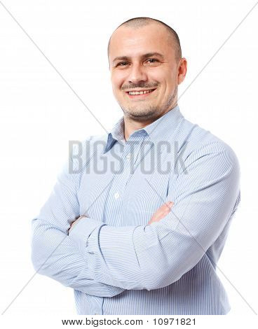 Businessman Isolated On White Background