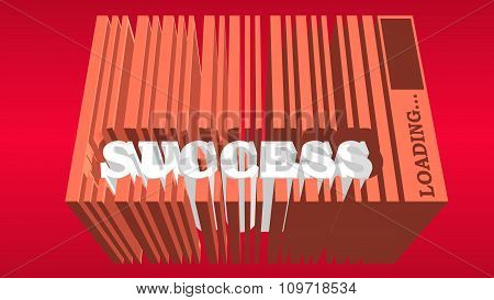 success word build in bar code