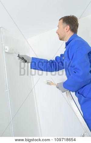 Working painter