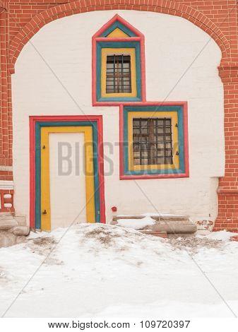 St Basils Cathedral Back Door
