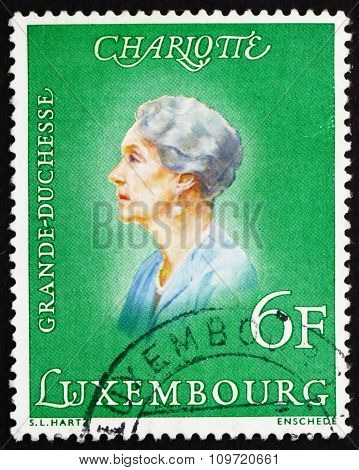 Postage Stamp Luxembourg 1976 Charlotte, Grand Duchess Of Luxemb