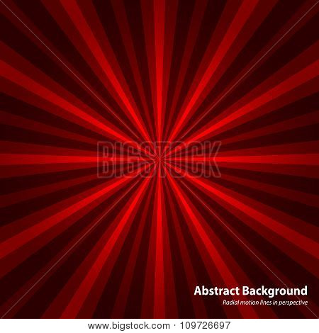Abstract starburst red background. Cool background for holiday.