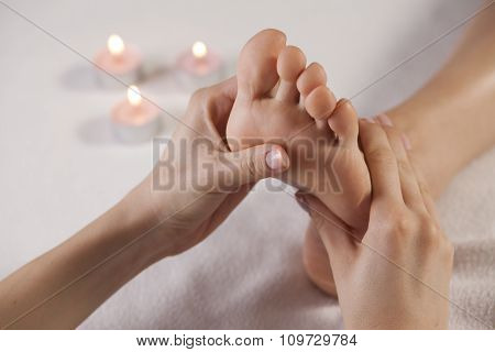 Aromatherapy Foot Massage