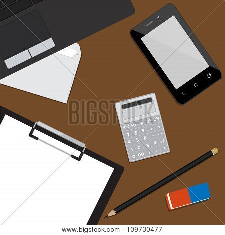 Working Place Background