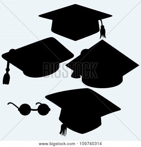 Set graduation cap.