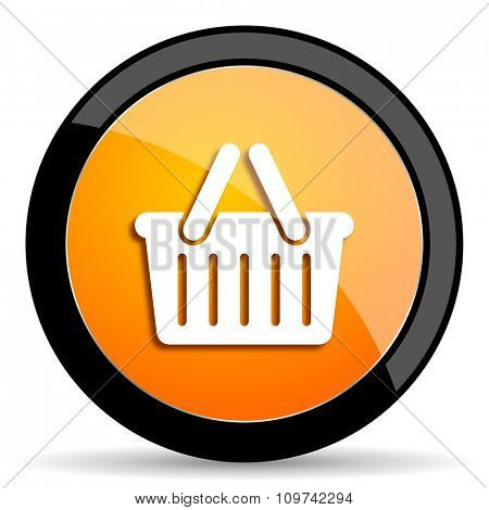 cart orange icon