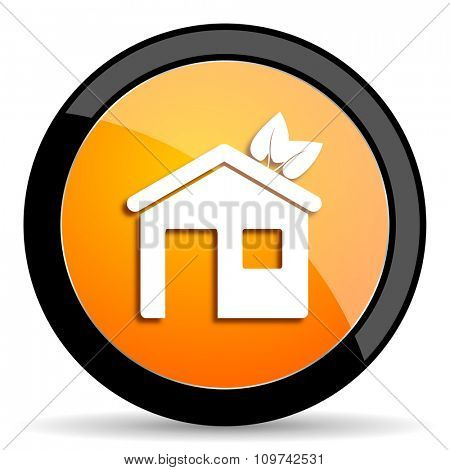 house orange icon